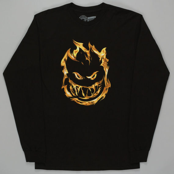 Spitfire 451 Long Sleeve T-Shirt Black