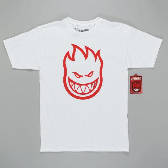 Spitfire Wheels Bighead T-Shirt White