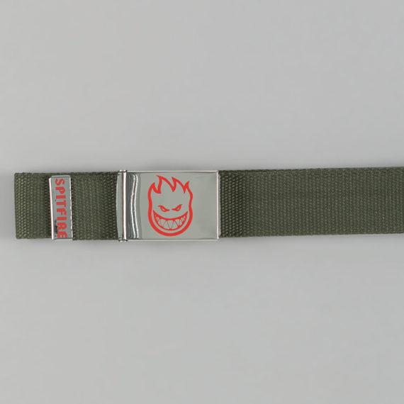 Spitfire Bighead LTB Belt Nickel Army