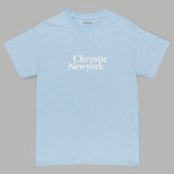 Chrystie New York T-Shirt Light Blue