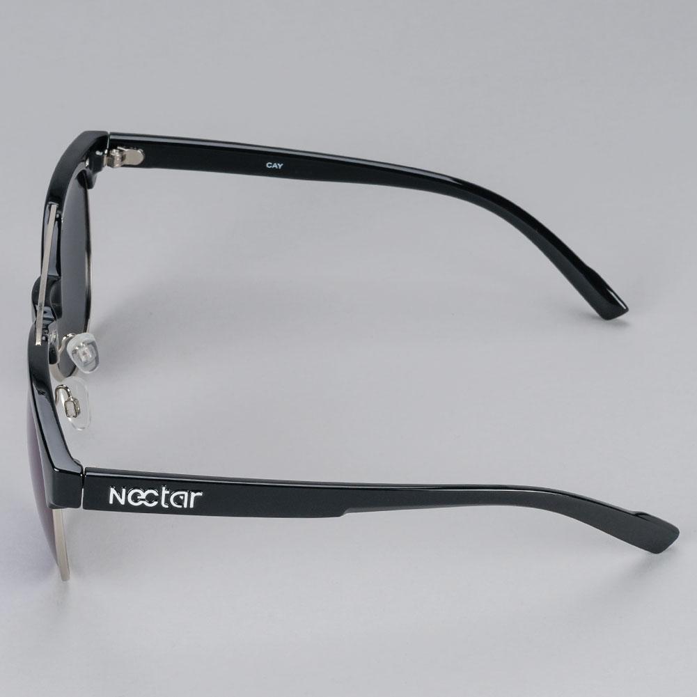0f615befe1 Buy Nectar Sunglasses Cay Polarised Black Available at Skate Pharm