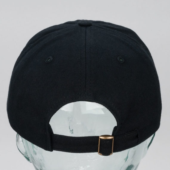 Polar Skateboards Wavy Skater Cap Black