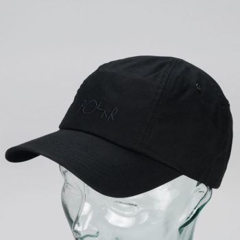 Polar Skateboards Spin Cap Black