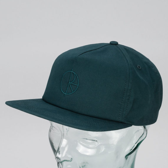 Polar Skateboards Stroke Logo Cap Dark Teal