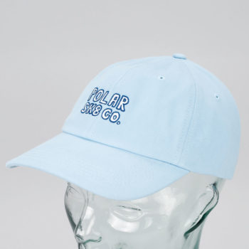 Polar Sk8 Co Cap Powder Blue