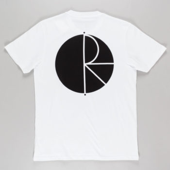Polar Skateboards Fill Logo T-Shirt White