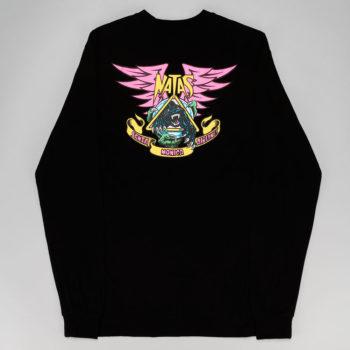 Santa Cruz Natas Panther Long Sleeve T-Shirt Black