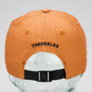 Theobalds Cap Co Classic Cotton Ball Hat Camel Brown