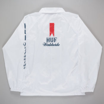 Huf Ultra Coach Jacket White