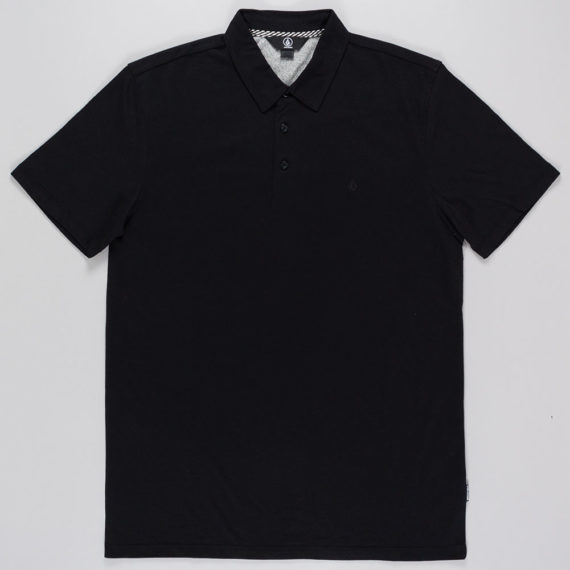 Volcom Wowzer Polo Shirt Black