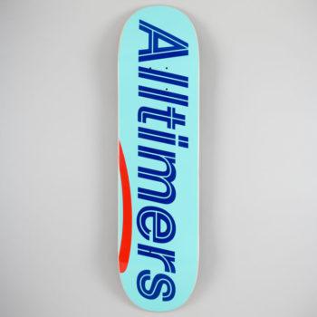 """Alltimers Sears Logo Neon Deck 8.25"""""""