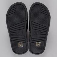 D.C. Bolsa Slider Sandals Black White