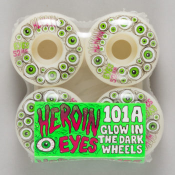 Heroin Skateboards Eyes Wheels 52mm