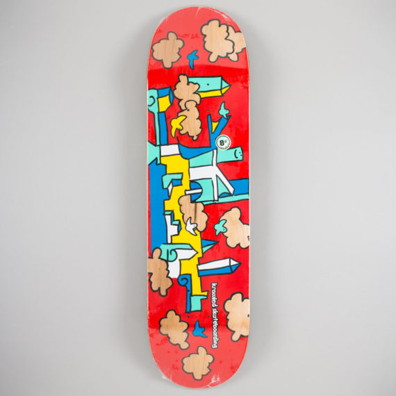 Krooked Skateboards Skycastle Deck 8.5