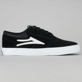 Lakai Griffin Shoe Black White