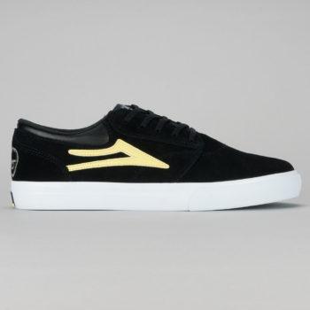 Lakai x Krooked Griffin Shoe Black Yellow