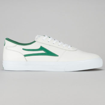 Lakai Manchester Shoe White Green