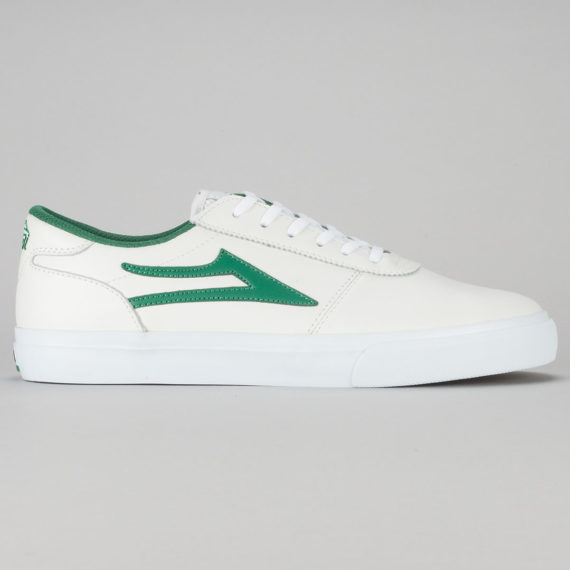 Lakai Manchester Shoe White Green