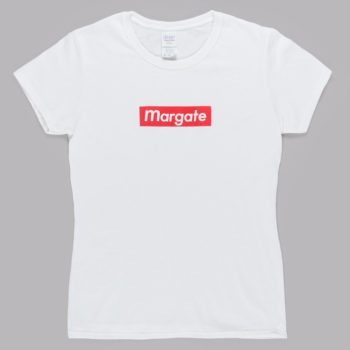 Unofficial Margate Mogo Ladies T-Shirt White