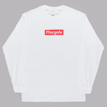 Unofficial Margate Mogo Long Sleeve T-Shirt White