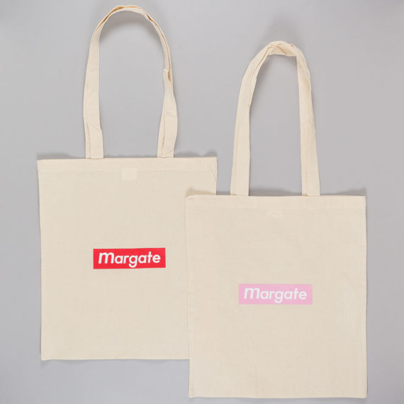 Unofficial Margate Red Mogo Tote Bag