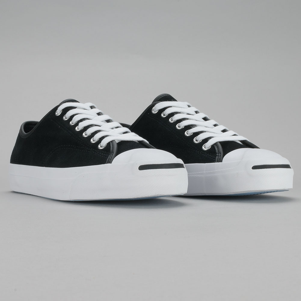 Converse x Polar Jack Purcell Pro Suede Black White at Skate Pharm ffb43db1a