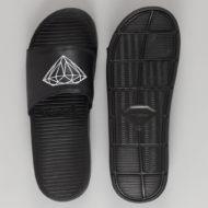 Diamond Logo Slider Sandals Black