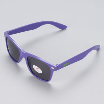 Heroin Skateboards Logo Sunglasses Purple