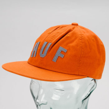 Huf Shortstop 6 Panel Hat Bombay Brown