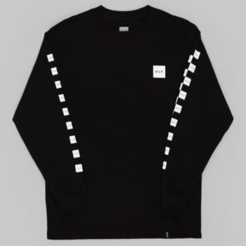 Huf Bunny Hop Long Sleeve T-Shirt Black