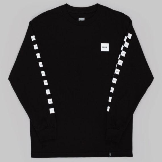 Huf Bunny Hop Long Sleeve T-Shirt Black
