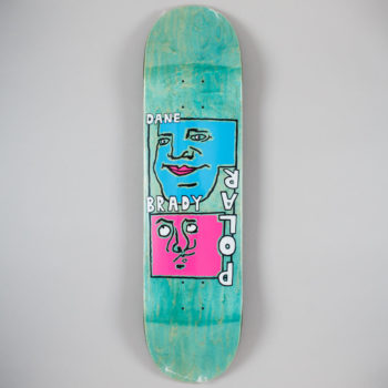 "Polar Skateboards Dane Brady Self Portrait Deck 8.25"""