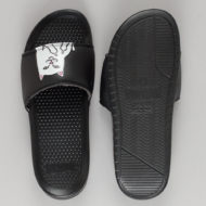 Rip'N'Dip Lord Nermal Slider Sandals Black