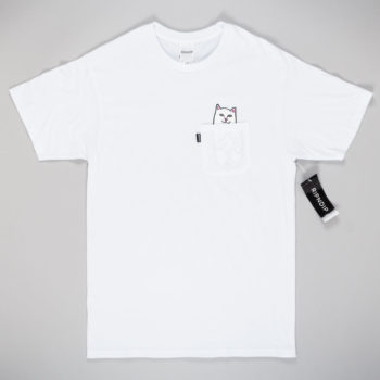 Rip'N'Dip Lord Nermal Pocket T-Shirt White