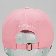 Theobalds Cap Co Athletics Away Hat Pink