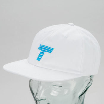 Theobalds Cap Co Athletics Home Hat White
