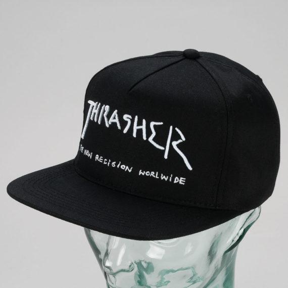 Thrasher New Religion Snapback Cap Black