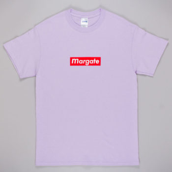 Unofficial Margate Mogo T-Shirt Lilac Red