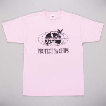 Unofficial Margate Protect Ya Chips T-Shirt Pink