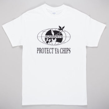 Unofficial Margate Protect Ya Chips T-Shirt White