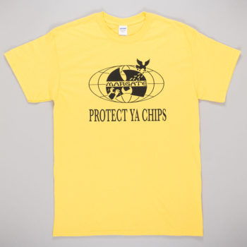 Unofficial Margate Protect Ya Chips T-Shirt Yellow
