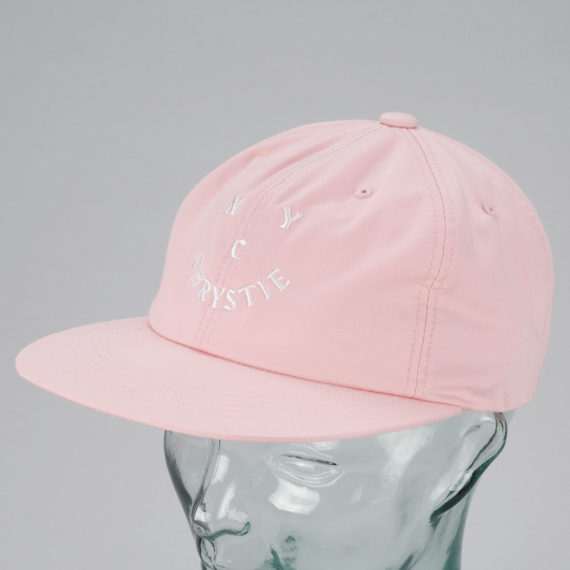 Chrystie New York Face Logo Hat Pink