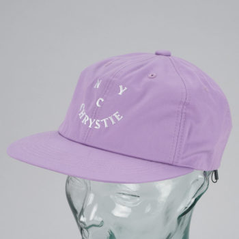 Chrystie New York Face Logo Hat Lavender