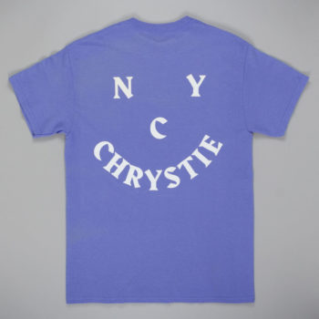 Chrystie NYC Face Logo T-Shirt Lavender