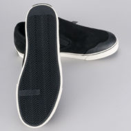 Consolidated 25th Anniversary Slip On Shoes Black