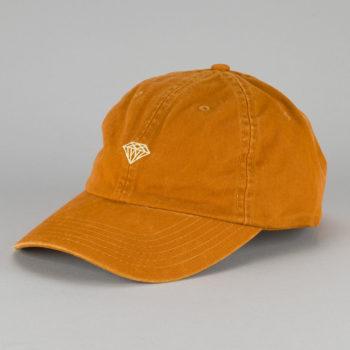 Diamond Brilliant Sports Strap Back Hat Burnt Orange