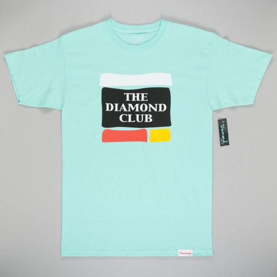 Diamond Diamond Club T-Shirt Diamond Blue