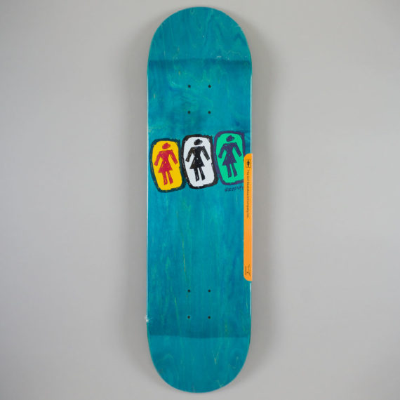 Girl Andrew Brophy One Off Deck 8.5""