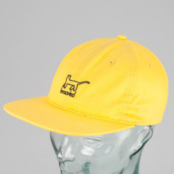 Krooked Skateboards Kat Strapback Yellow