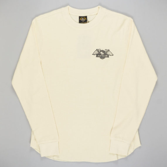 Loser Machine Walter Knit Long Sleeve T-Shirt Antique White